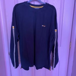 Vintage Aeropostale navy and yellow sweater!